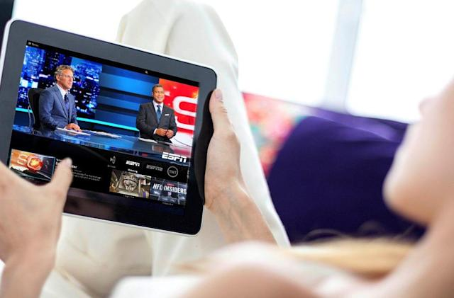 Sling TV lets you watch TV on your Android device's browser