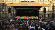 In pictures: Manchester turns to music to mark one year anniversary of terror attack