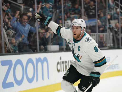 Mixed emotions for Sharks as Meier re-signs, Pavelski leaves