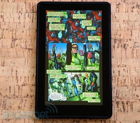 DC Comics brings a veritable justice league of titles to Kindle, iBooks and Nook Stores