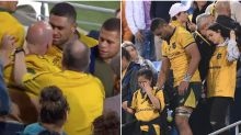 Wallaby makes shock decision after ugly fan clash