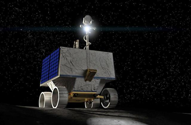 NASA's VIPER rover will look for water ice on the Moon