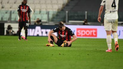 Ibrahimović out of Euro 2020 with knee injury