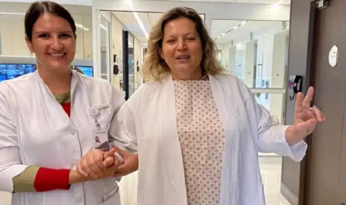Verificamos E Antiga Foto De Joice Hasselmann Sem Mascara Em Hospital