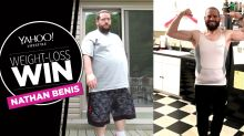 The first thing Nathan Benis did on his 165-pound weight-loss journey