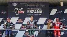 Márquez fractures right arm in crash at Spanish MotoGP