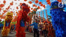 FOTO: Semarak Festival Grebeg Sudiro Sambut Imlek di Surakarta