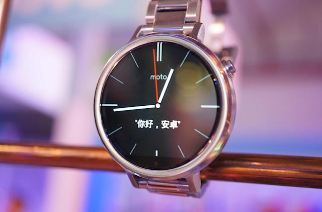 Android Wear is coming to China with Motorola's help