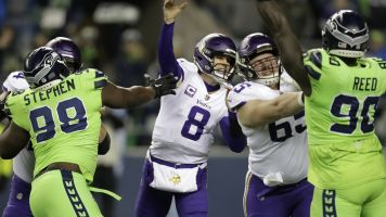 Cousins, Vikings nearly get shut out by Seahawks