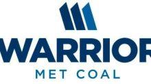 Warrior Met Coal Reports Third Quarter 2020 Results