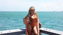 Celina Rucci posó en bikini 'sin filtros ni Photoshop'