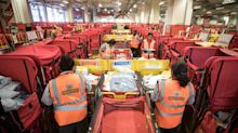 Royal Mail's Christmas boosted by European parcels business