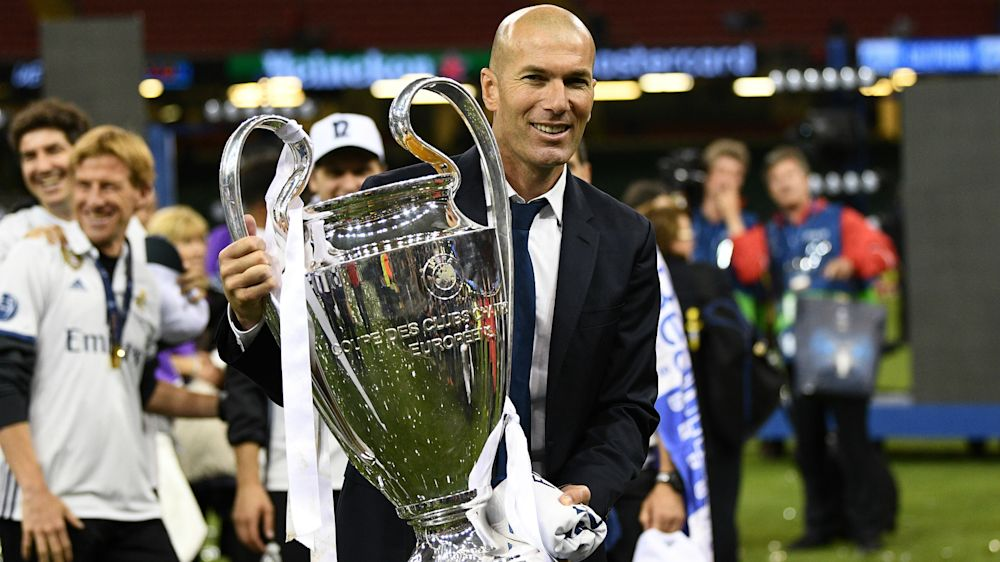 New Real Madrid deal for Zidane is Perez's first job