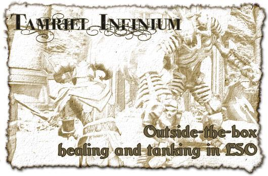 Tamriel Infinium: Outside the box healing and tanking in The Elder Scrolls Online