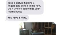 Texts reveal horror of abusive marriage