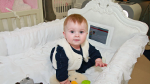 This £1500 'Intelligent Cot' with in-built iPad has divided parents