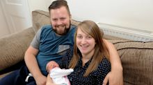 Mother Delivers Her Own Baby In Hospital Entrance After Just Seconds Of Labour
