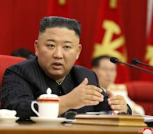 Kim Jong-un says ready for negotiations with US as food shortages bite