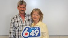 Canadian couple win lottery for third time to take home $8.2m jackpot