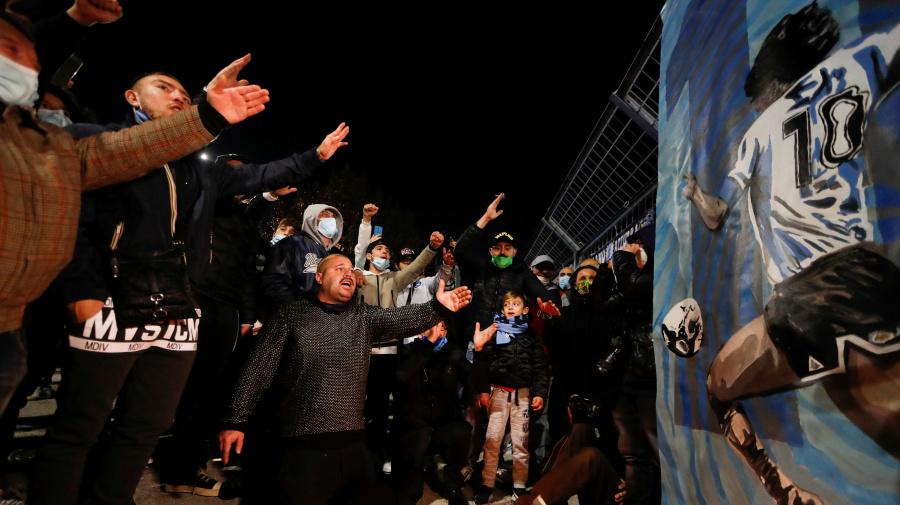Maradona und Neapel: Die Stadt in der er Gott war