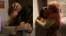 Ex-BBBs Marcela e Gizelly se emocionam em reencontro