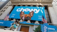 Online pet store Chewy slightly misses first earnings after IPO
