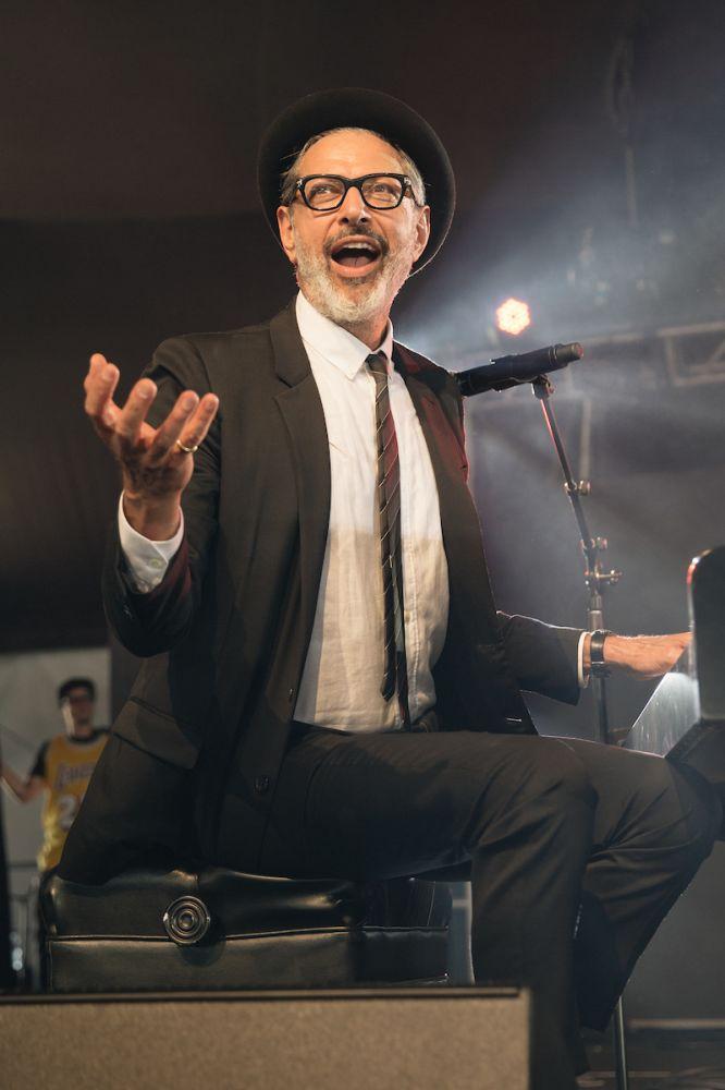 Jeff Goldblum at Arroyo Seco Weekend 2017