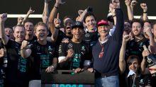 The Latest: Hamilton says Lauda 'bright light in my life'