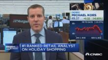 No. 1 ranked retail analyst on holiday shopping