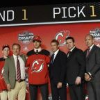 Devils select Hischier with first overall draft pick