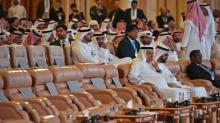 Príncipe herdeiro saudita participa em fórum econômico em meio à crise