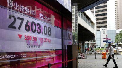 World shares fall as China-US trade talks stall
