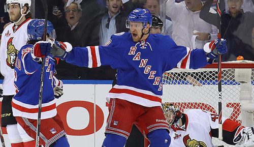NHL: Grabner trifft bei Playoff-Sieg der Rangers