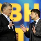 Comic poised to take over presidency in Ukraine vote