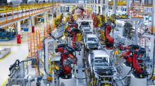 US STOCKS-Bumper jobs data, upbeat trade tone push Wall Street higher