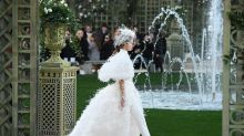 Bridal pantsuits are officially in, according to Chanel