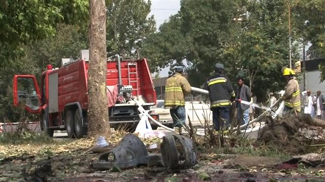 Suicide bombing in Kabul kills at least 6