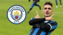 Lautaro Martinez tourne le dos à Manchester City