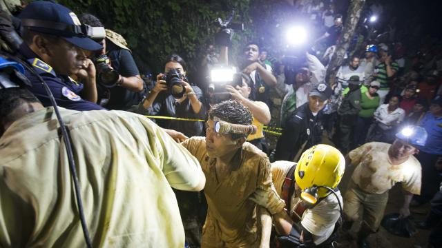20 freed from mine in Nicaragua