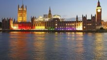 Parliament to be lit up in rainbow colours ahead of London Pride march