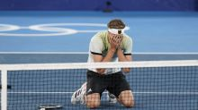 Zverev follows up win over Djokovic with Olympic gold