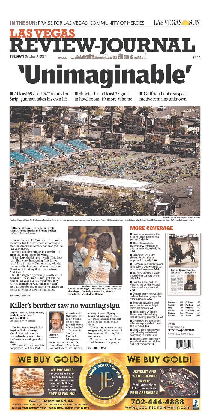 "<p>""Las Vegas Review-Journal,"" published in Las Vegas, Nev. (newseum.org) </p>"