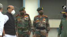 Rajnath Singh leaves for two-day visit to Ladakh, J&K