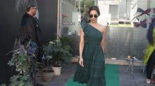 Malaika Arora Raises The Fashion Bar With Her Ruffled Green Dress