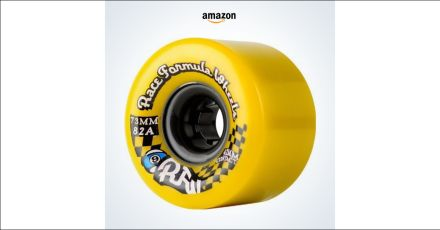 Sector 9 Race Formula Skateboard Wheel, Yellow…