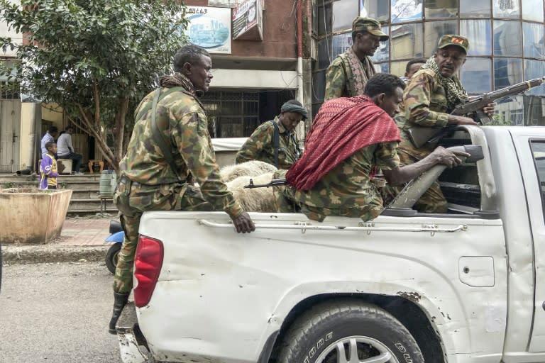 Some militiamen are fighting alongside federal troops in the region