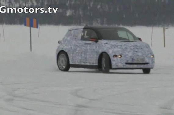BMW's all-electric i3 city car gets captured on video
