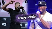 The Five Pointer: McGregor throws down 50 cent challenge, Ronaldo's brilliant gesture, Dolphins lose again