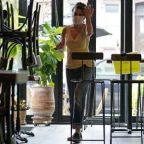 'I'd still prefer to sit outside': restaurants open indoor dining to hesitant New Yorkers