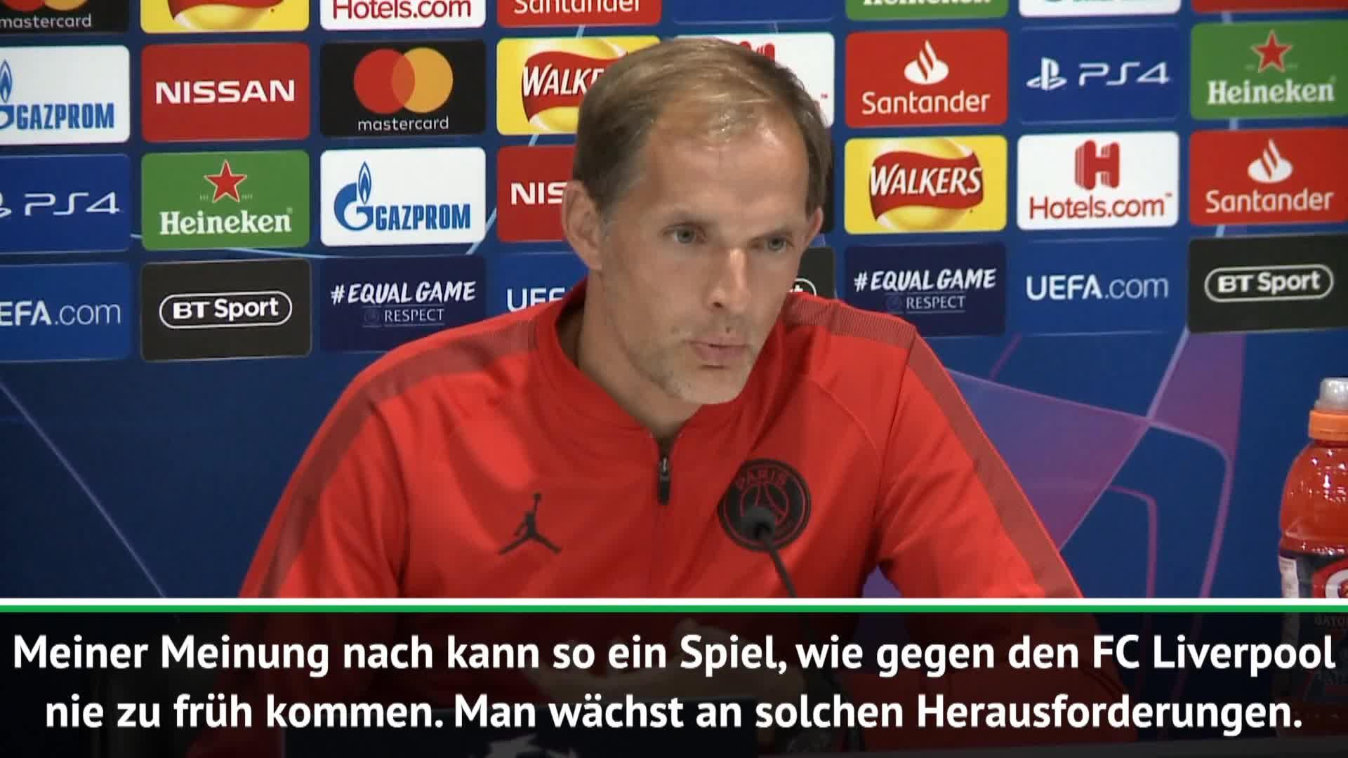 tuchel angriffslustig vor top duell mit klopp video. Black Bedroom Furniture Sets. Home Design Ideas